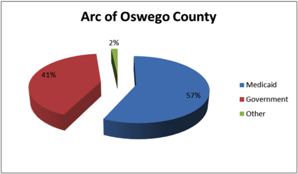 ARC of Oswego County Financial Info