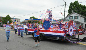 Memorial Day Parade Float Winner